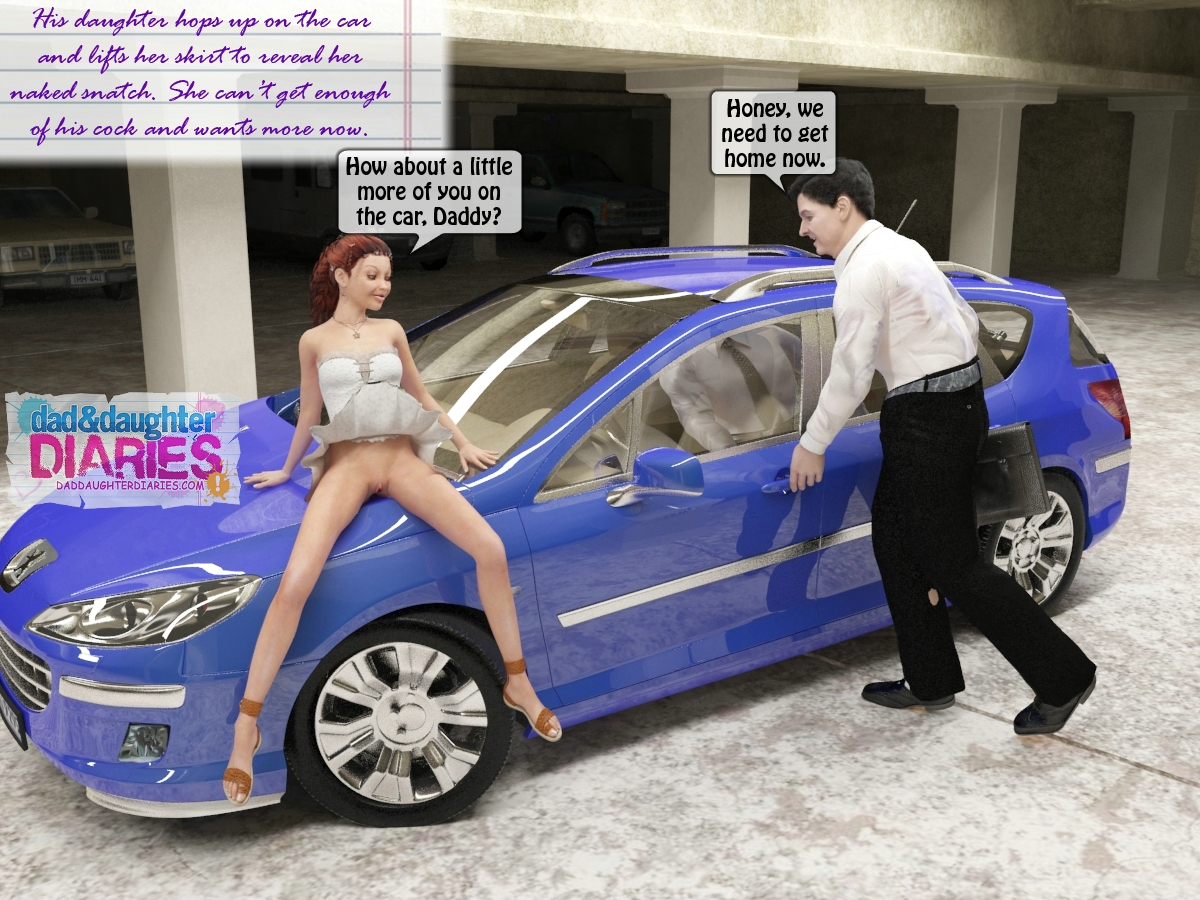 3d incest gallery with dad banging daughter on a parking